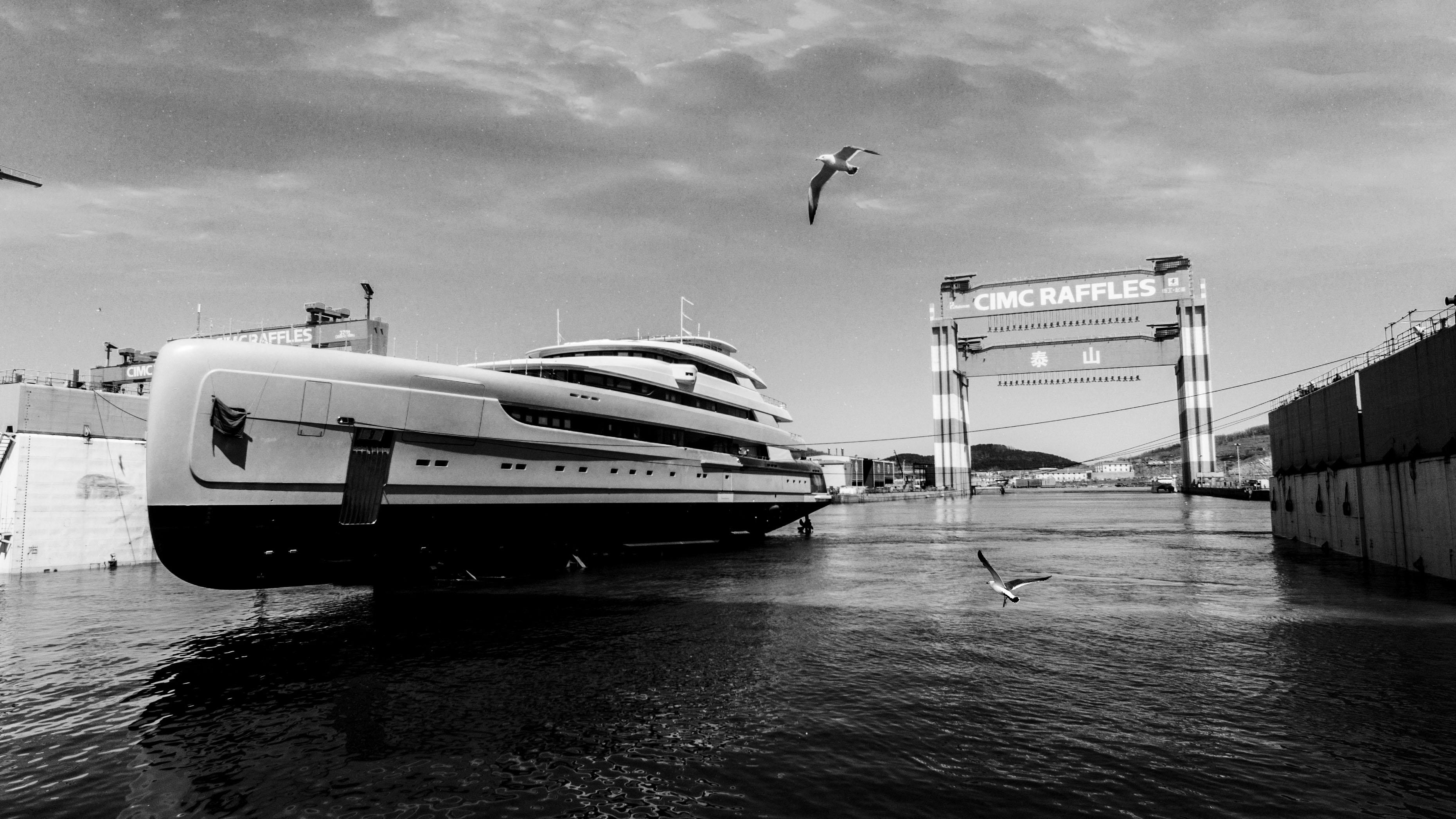 China Pride Mega Yachts Illusion Plus superyacht