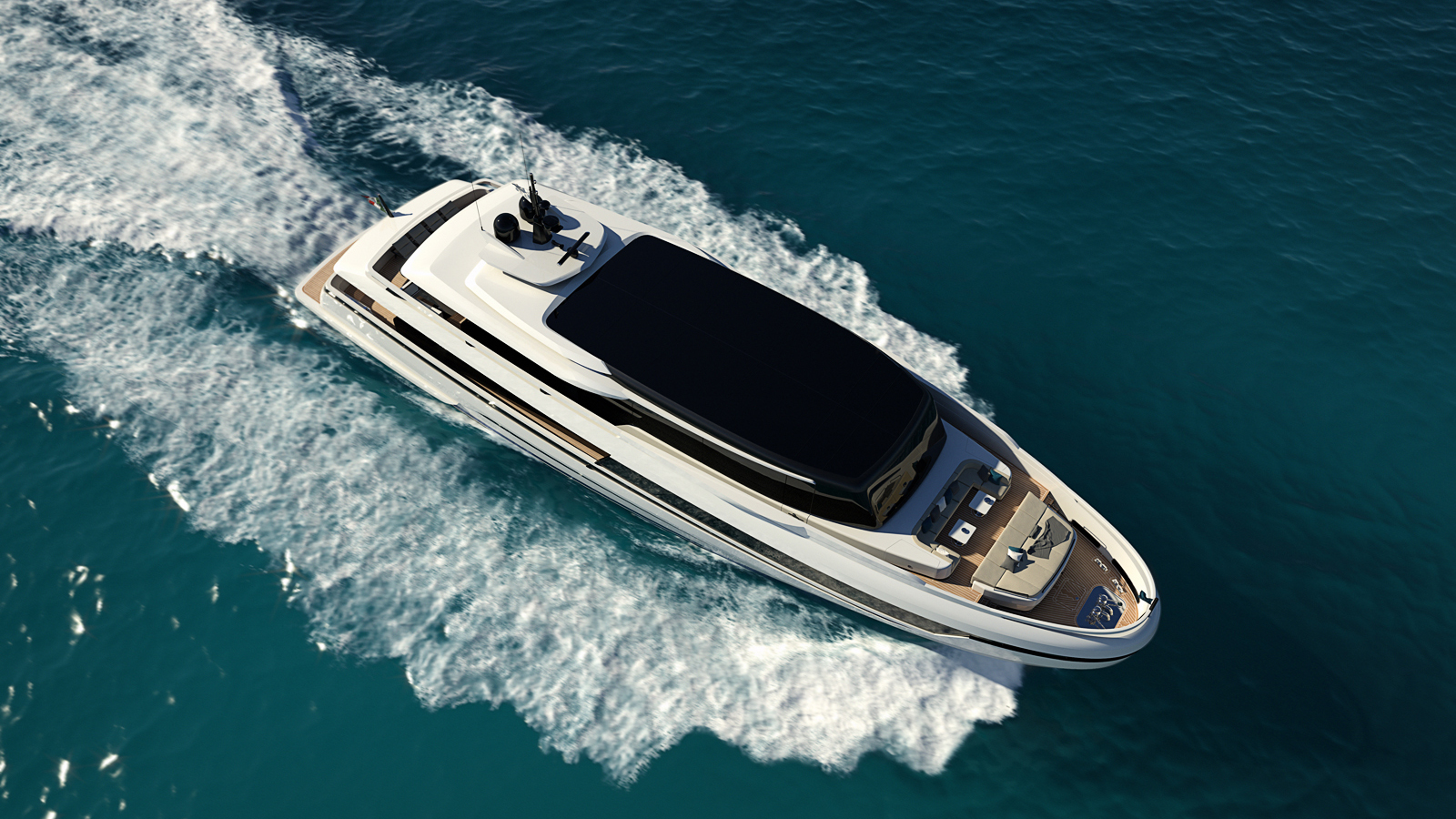 ISA Extra 126 Palumbo Superyachts
