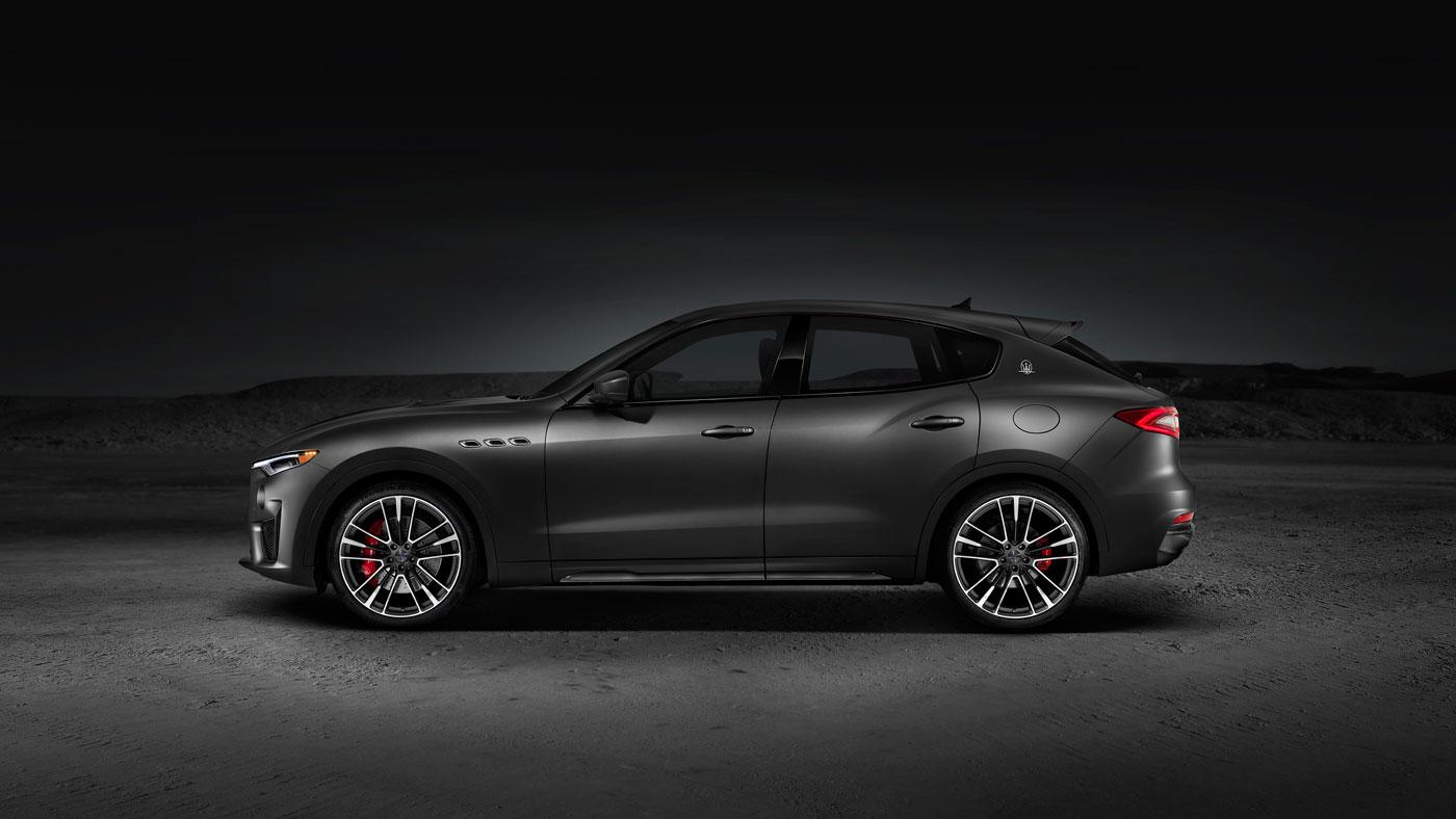 The 2018 Maserati Levante Trofeo.