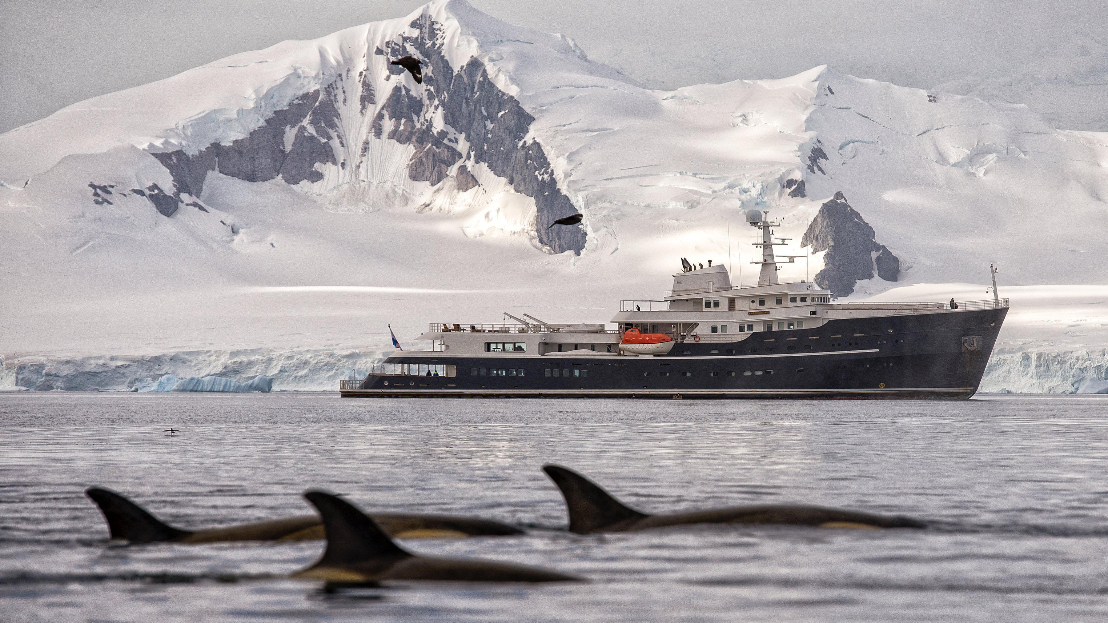 Legend Adventure yacht camper and nicholsons charter yacht MYBA