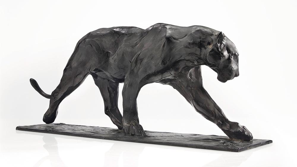 Panthère Marchant sculpture