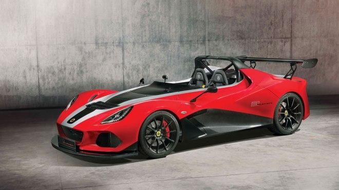 Lotus car 3-Eleven 430
