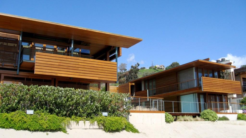 Peter Morton's Malibu home