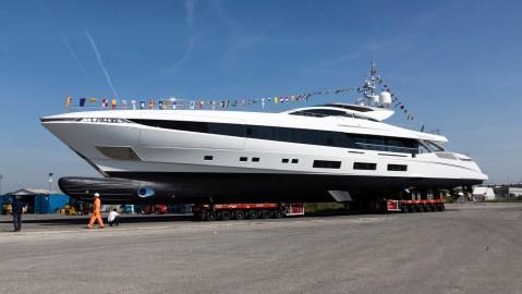 Overmarine Mangusta El Leon superyacht