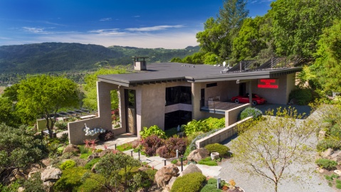 vacation home in St. Helena, California