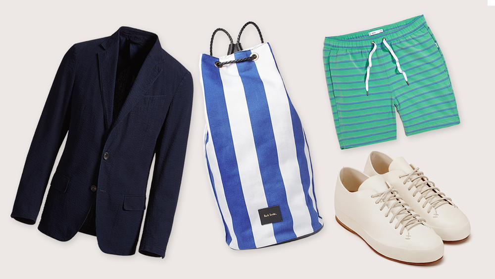 Luxury Menswear to Pack for Memorial Day Weekend