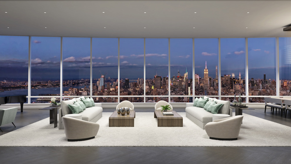 Penthouse at 111 Murray Street in New York City