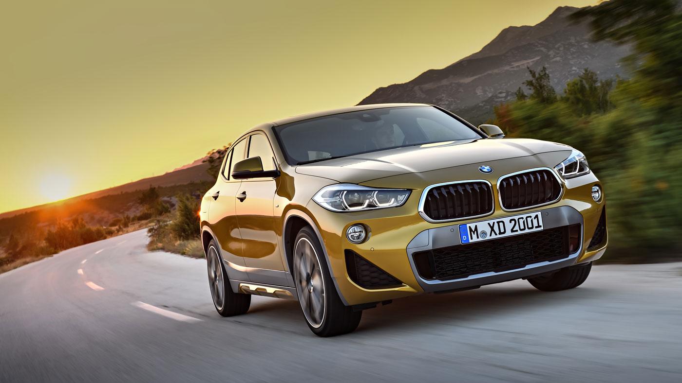 The BMW X2.