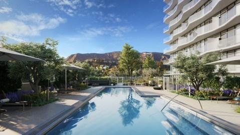Argyle House Los Angeles pool