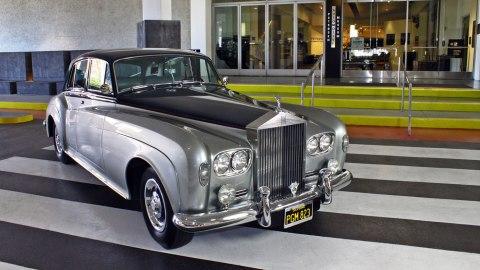 A 1965 Rolls-Royce Silver Cloud III.