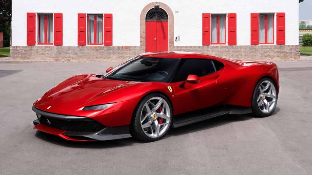 The Ferrari SP38.