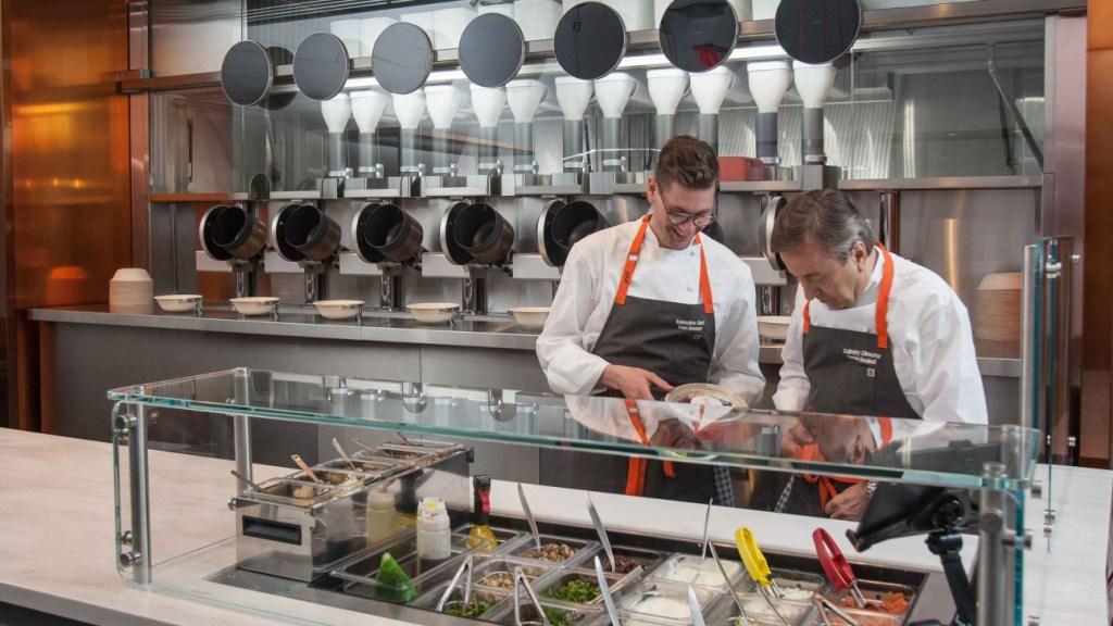 spyce robot chef boulud