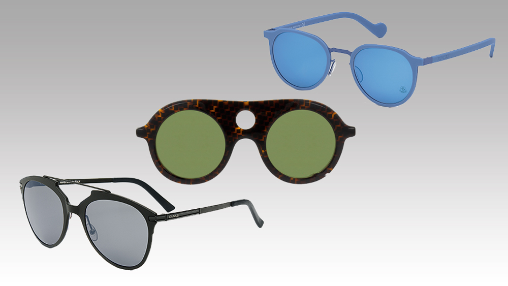 Moncler, Pierre Hardy, and Canali sunglasses