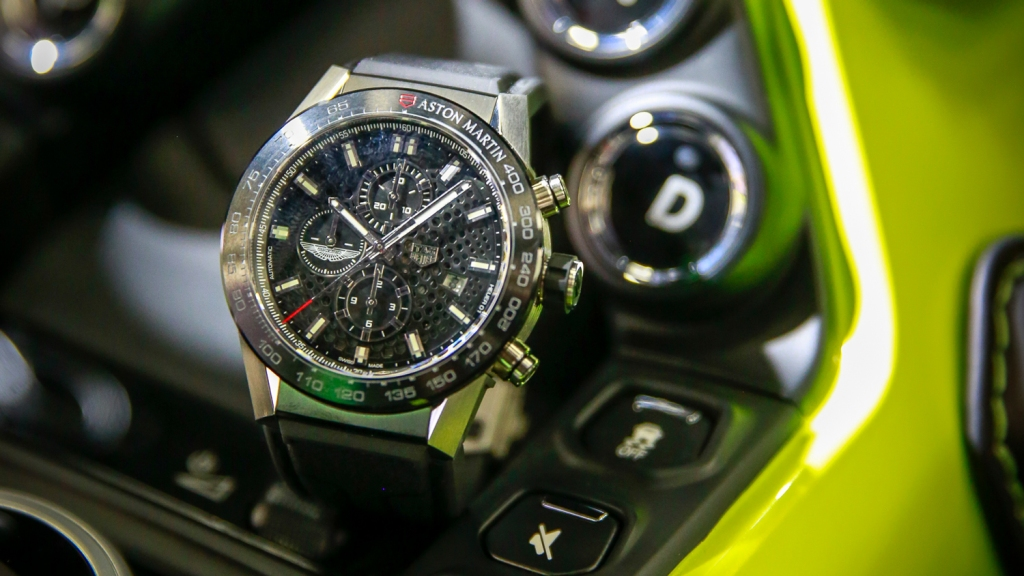 Tag Heuer Timepieces Honor Official Partnership With Aston Martin Robb Report