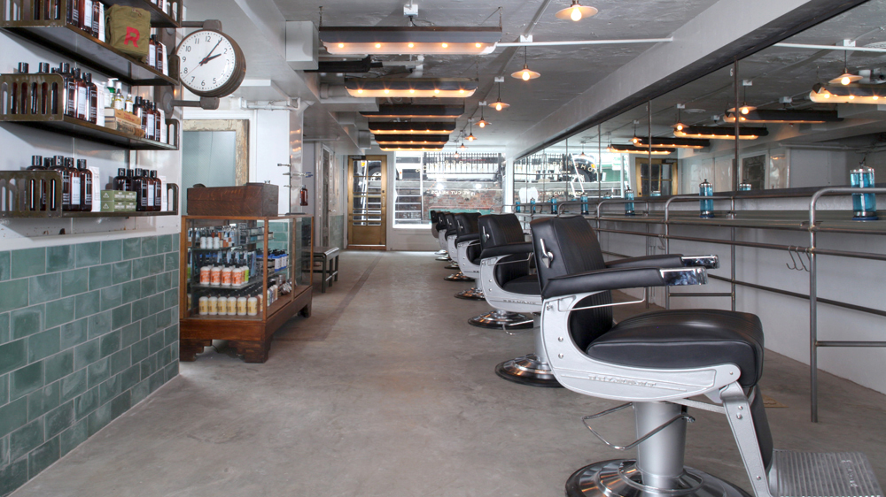 The Ace Hotel barber