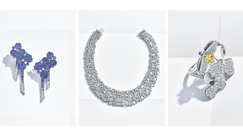 Tiffany & Co.'s New Paper Flowers Jewelry Collection