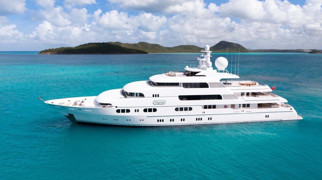 charter yacht Titania Burgess MYBA
