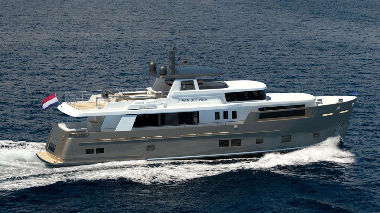 Van der Valk's Latest Yacht Is Built to