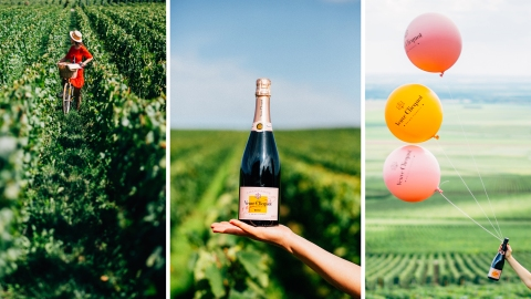 Madame Clicquot's legacy lives on and on.