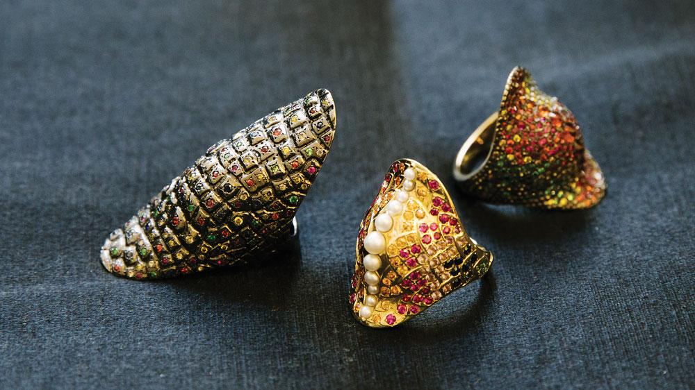 Venyx's Reptile rings
