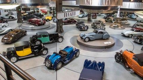 The Mullin Automotive Museum's L'époque des Carrossiers exhibit.