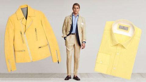 Yellow Menswear Trend