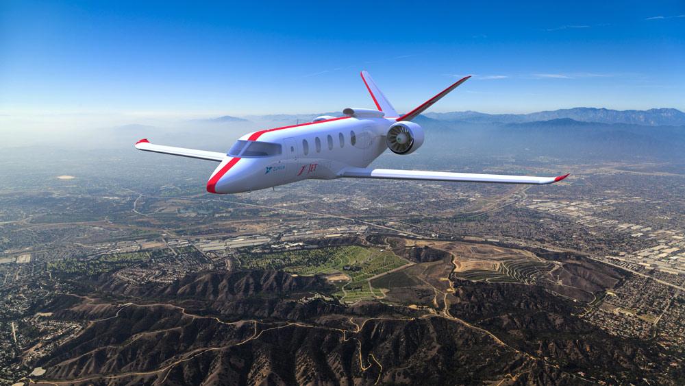 Zunum Aero Aircraft for JetSuite