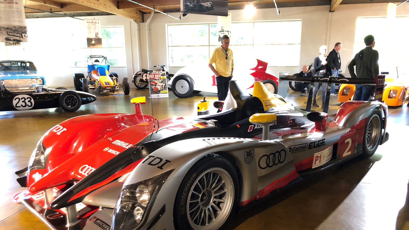 The Canepa Motorsports Museum in Scotts Valley, Calif.