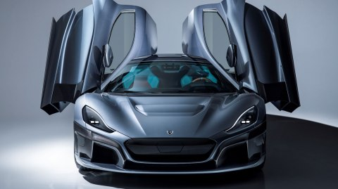The Rimac C Two hypercar.