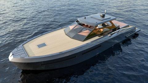 Mazu 52 hard top yacht