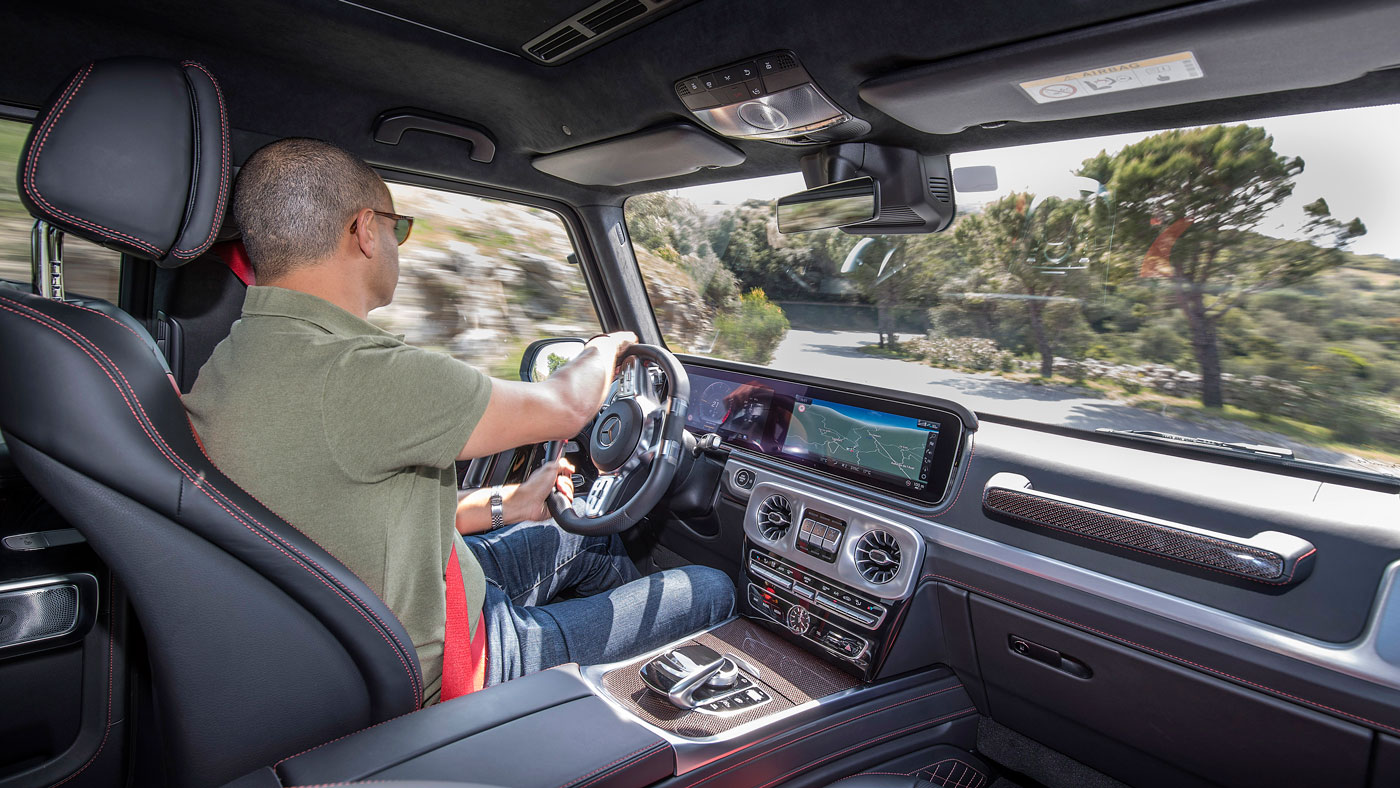 The 2019 Mercedes-Benz G-Wagen.
