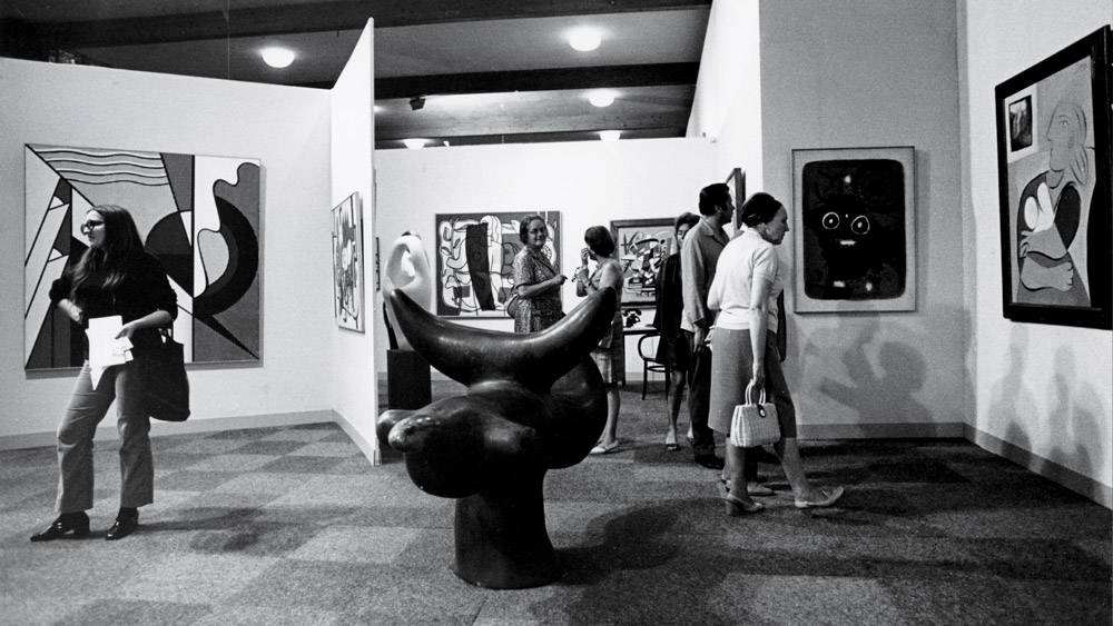 Art Basel in 1970