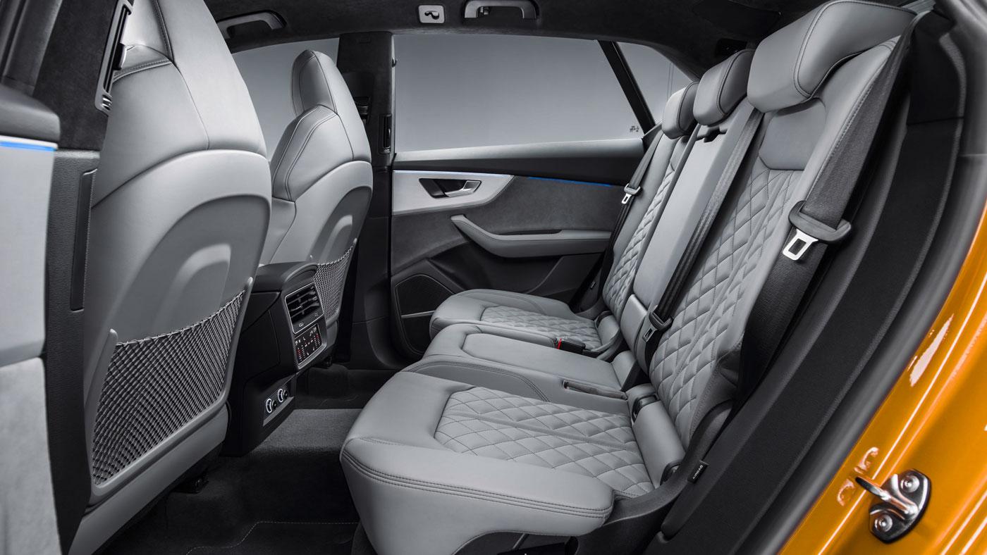 The 2019 Audi Q8.