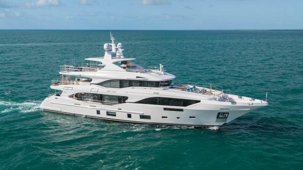 Benetti Mediterraneo 116 Mr Loui italian superyacht