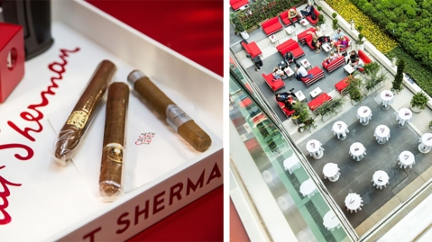 Casa Lever Cigar Patio