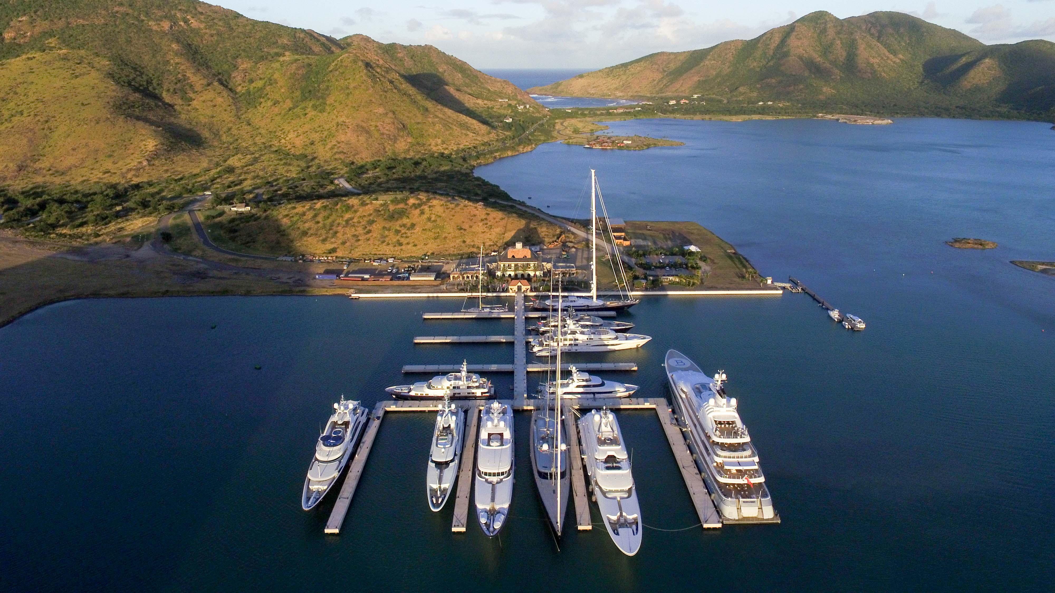 superyacht marina St. Kitts