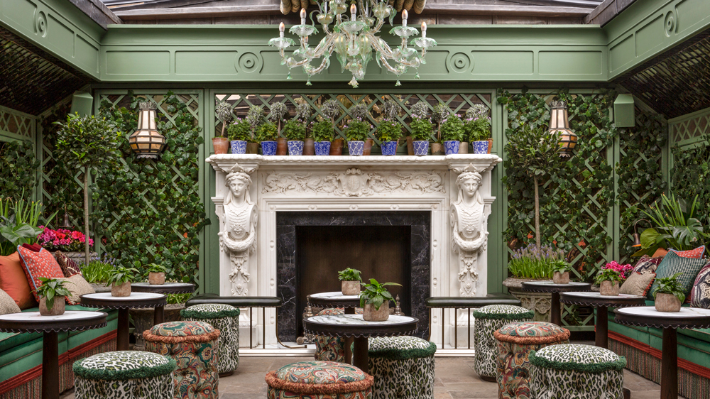 Annabel's London garden terrace