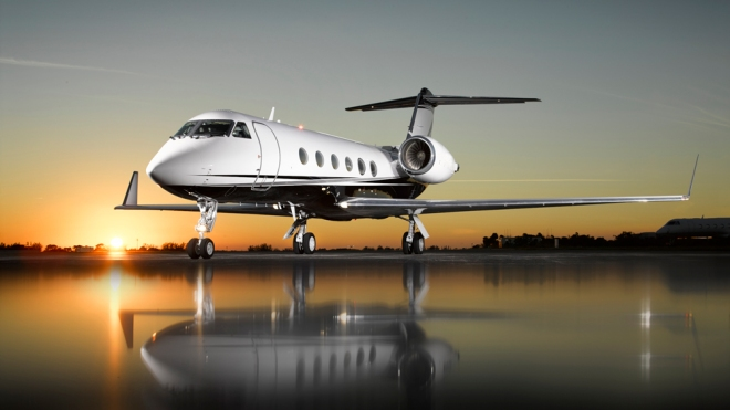 JetReady Gulfstream GIV-SP exterior