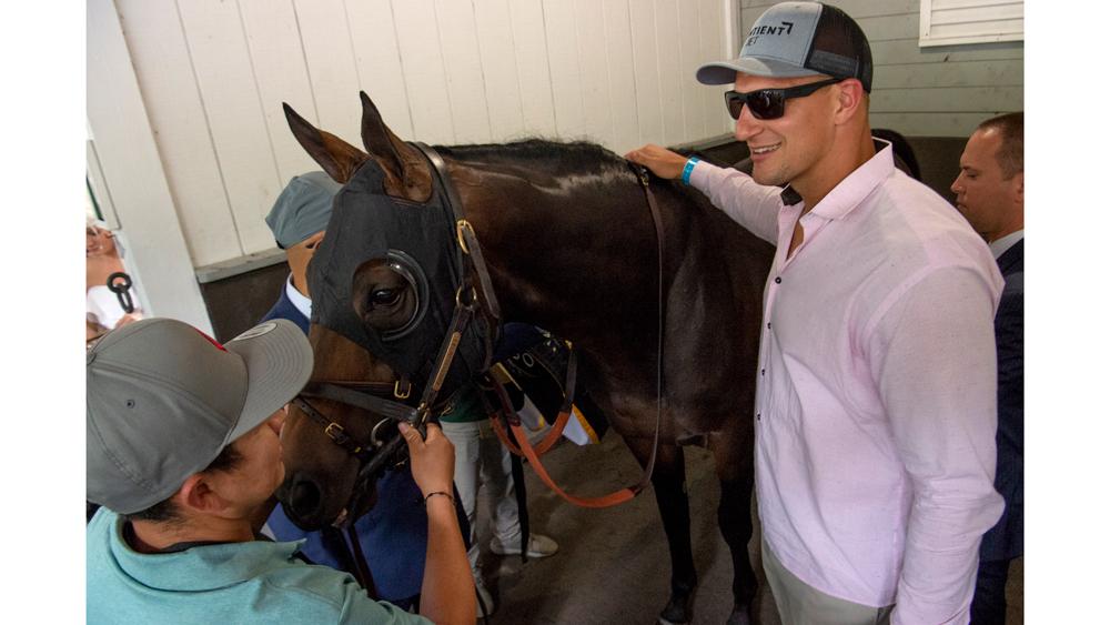 Rob Gronkowski Belmont Stakes