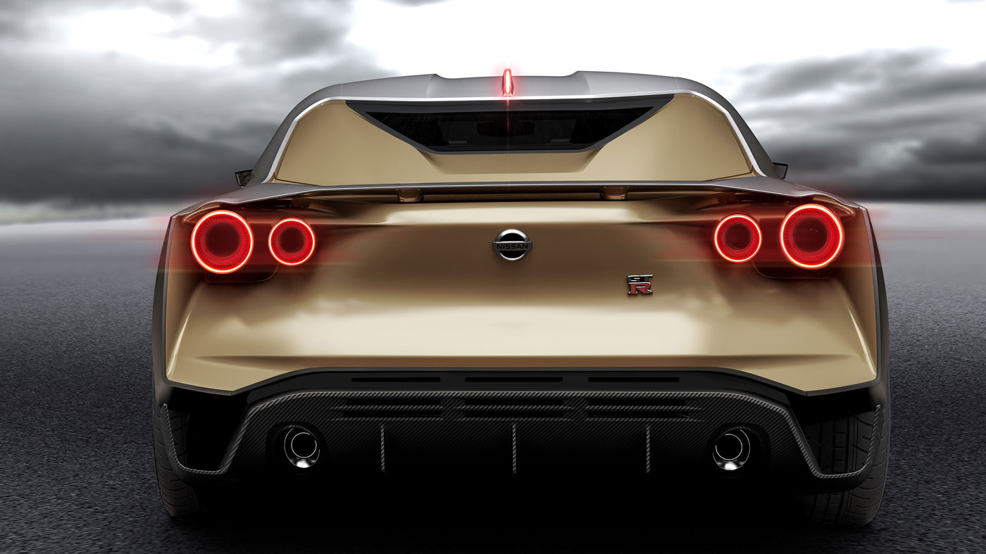 The Nissan GT-R50 Concept.