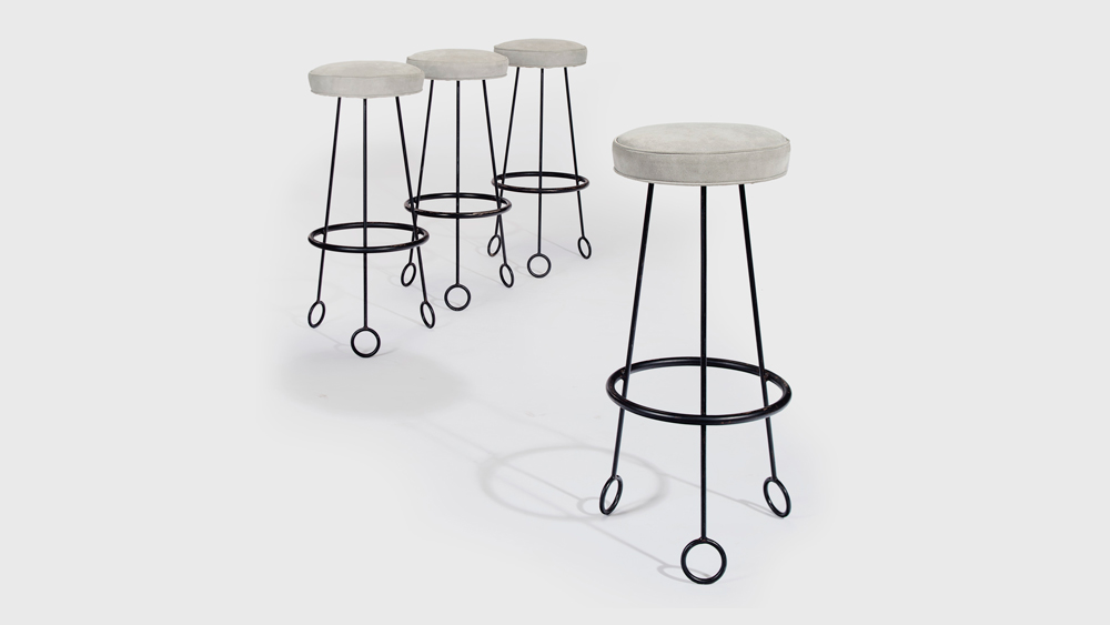 Jean Royère YoYo stools
