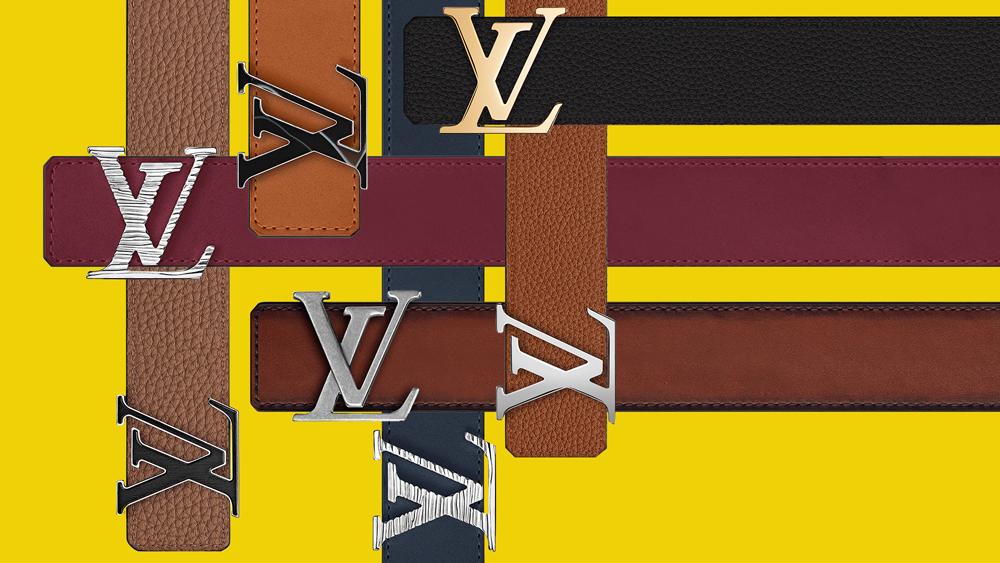Louis Vuitton custom belts