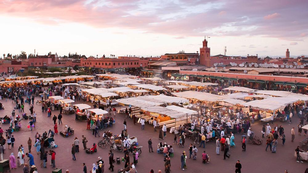 Marrakech Morocco market