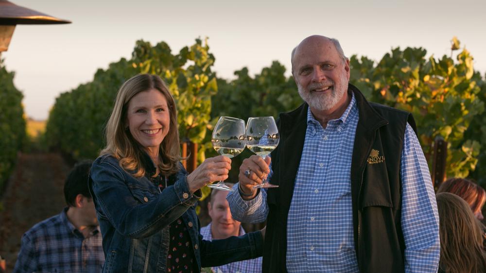 Benovia wine founders