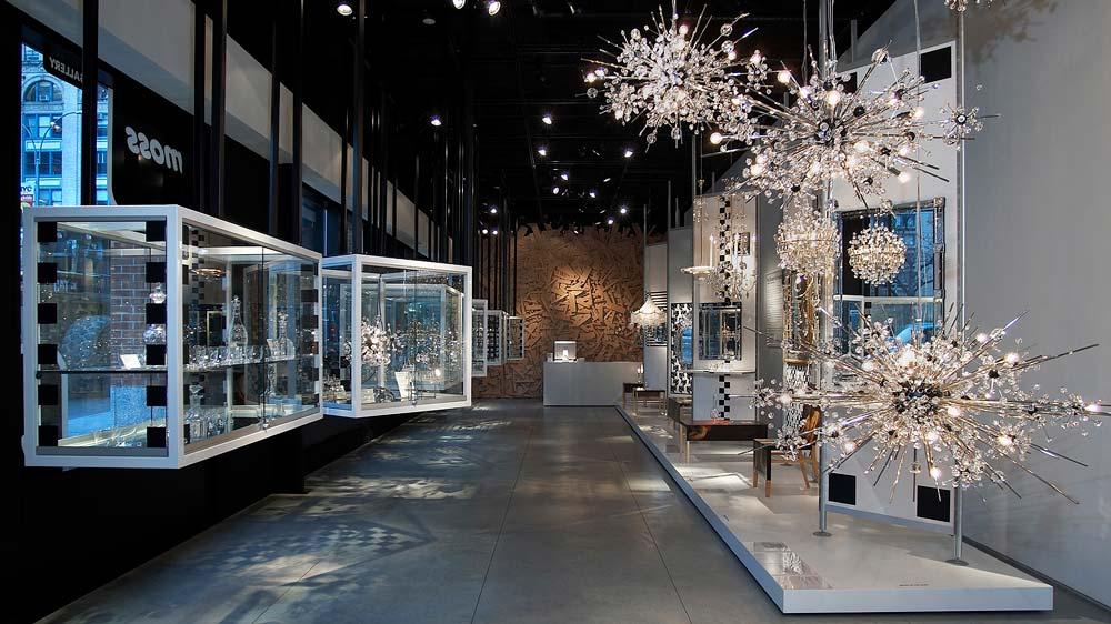 Moss glass display