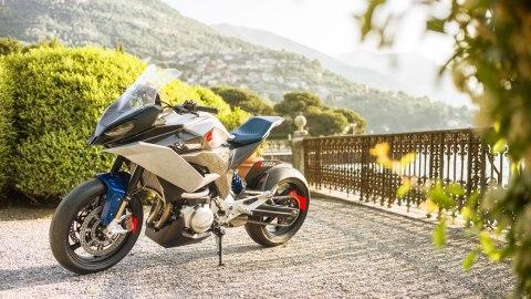 BMW Motorrad's 9cento concept motorcycle.
