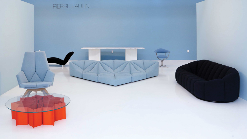 Pierre Paulin exhibit at Ralph Pucci