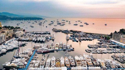 superyacht marina Monaco Monte Carlo Monaco Yacht Show