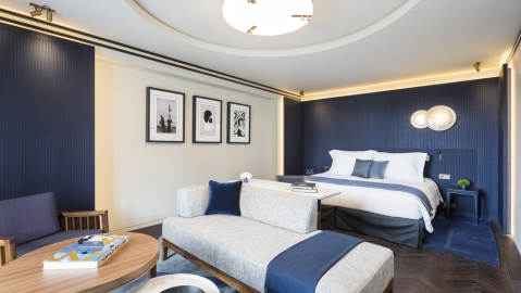 Hotel Lutetia room