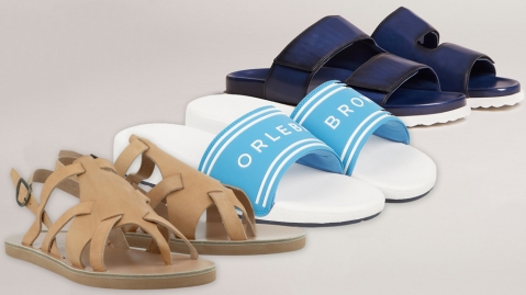Sandals luxury brands